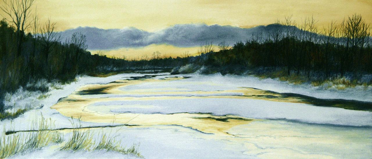 Fall Creek in Winter